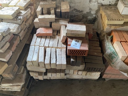 Ca. 250 stk. mursten