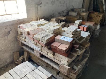 Ca. 200 stk. mursten