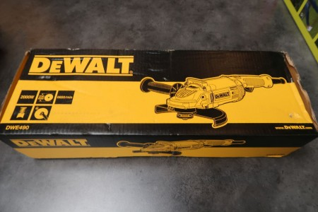 Vinkelsliber, mærke: Dewalt, model: DWE490