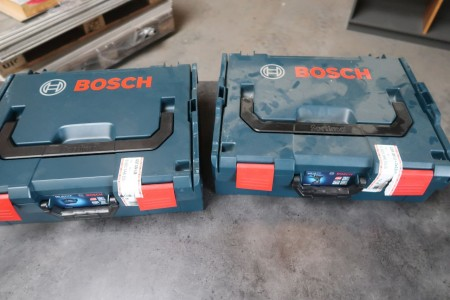 2 stk. Bosch L-Box