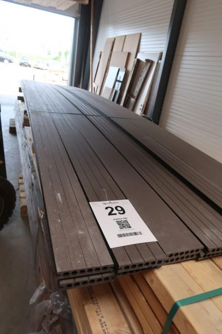 15 stk. komposit terrasse brædder