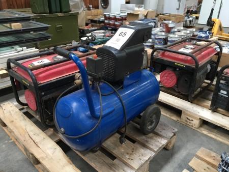 Luftkompressor, mærke: PowerCraft