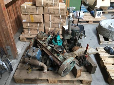 Gammel motorer + pumpe