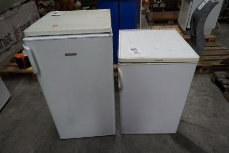 2 stk. køleskabe med frys, mærke: Electrolux