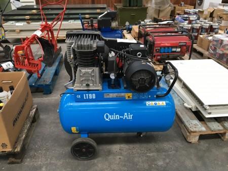 Luftkompressor, mærke: Quin-Air, model: LT90
