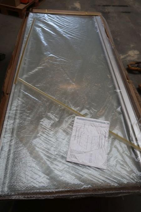 1 stk. bruseafskærmning uden bund