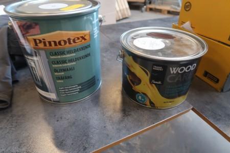 2 spand træbeskyttelse, ukendt farve