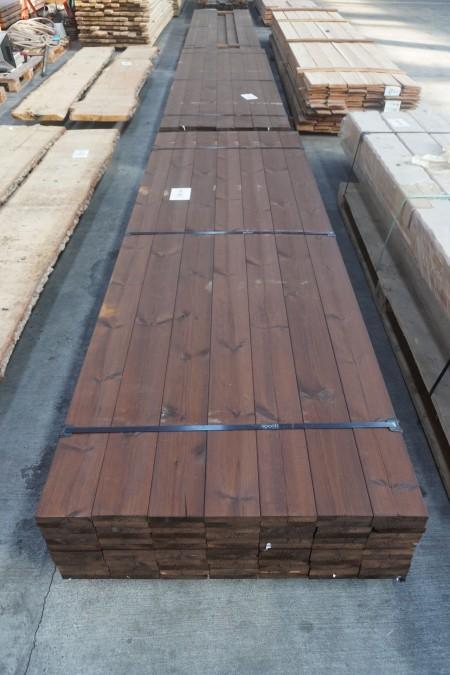 84 stk. Saga Wood Terrassebrædder