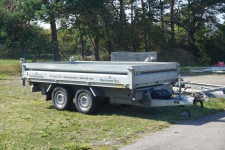 Tip påhængsvogn, mærke: Brenderup. Tidligere regnr.: DM8984