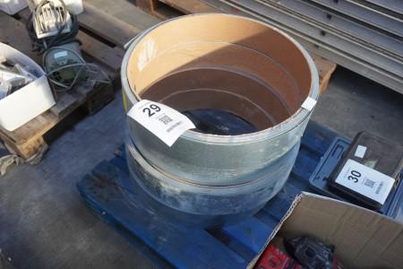 4 stk. ruller med stålbånd