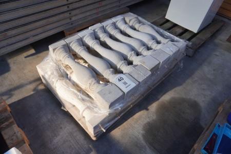 15 stk. Beton baluster
