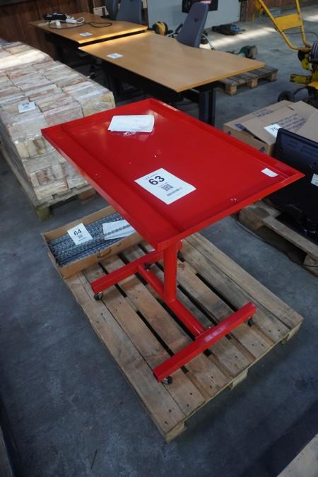 Rullebord for værktøj