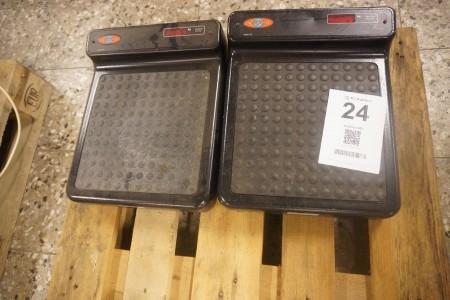 2 stk. vægte, mærke: Libra, model: 770