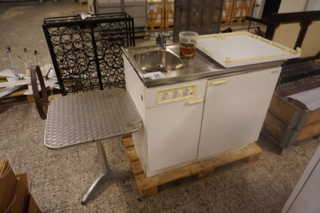 Minikøkken, mærke: Atlas + bord