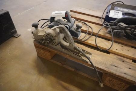 2 stk. høvle, Mærke: Bosch & Skil