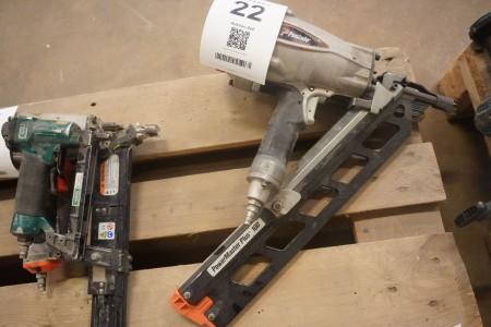 Sømpistol, Mærke: Paslode, Model: Powermaster Plus 100