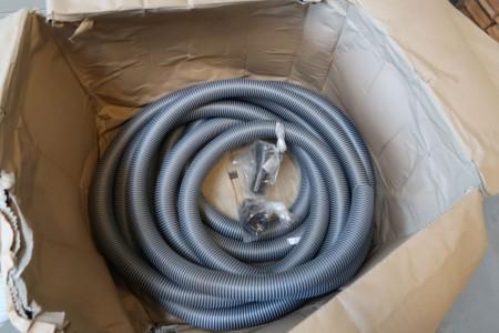 20 meter støvsuger slange