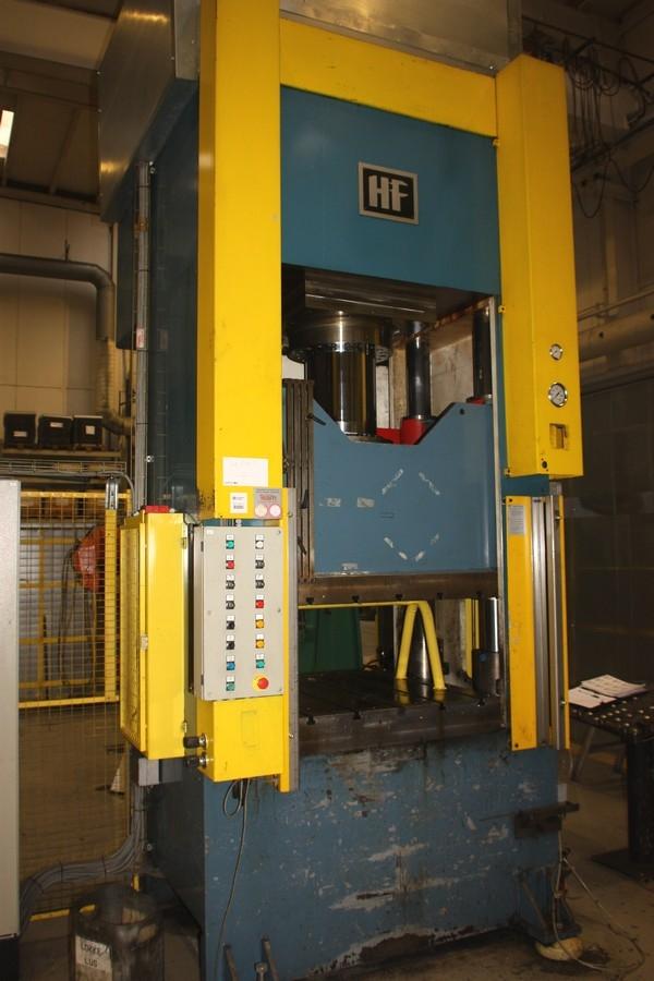 4 Column Vertical Hydraulic Press, Hydroform OKS  300 ton